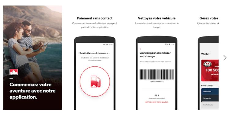 notre application mobile Petro-Canada