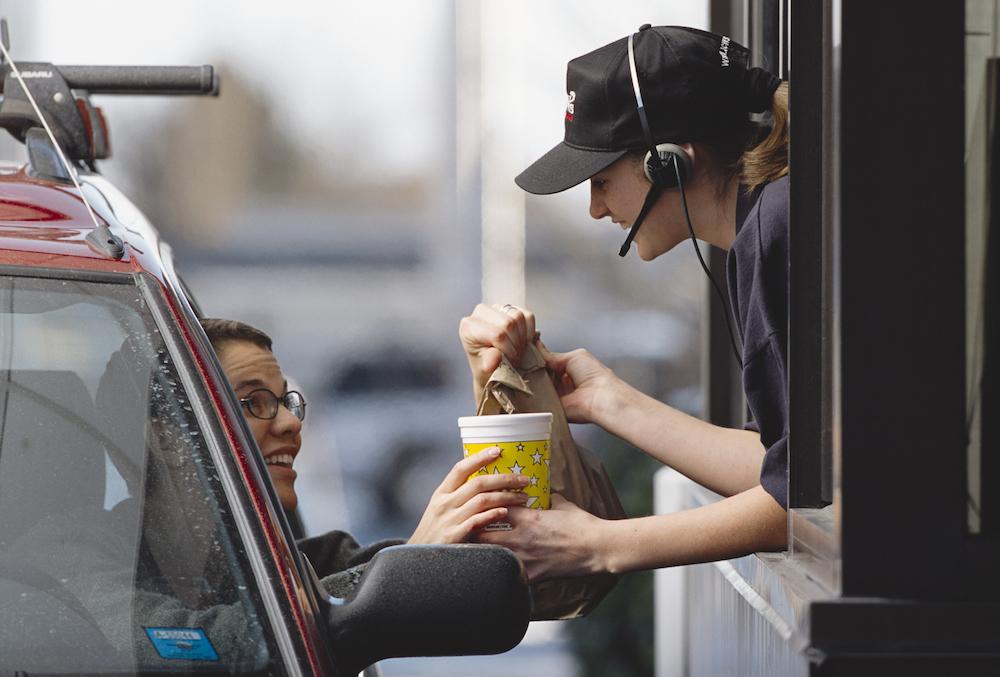 un acte de gentillesse sur la route