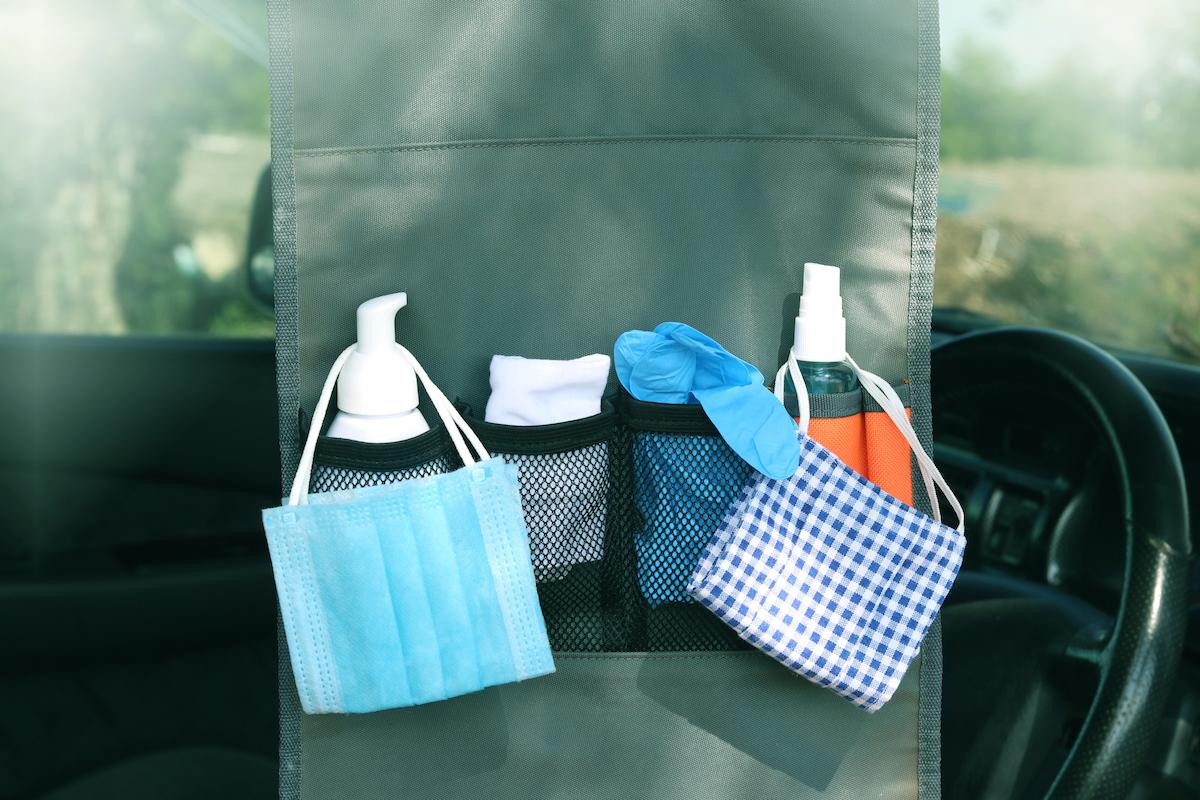 kit de nettoyage en voiture