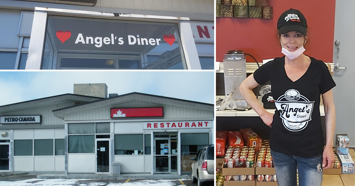 Cristal chez Angel's Diner